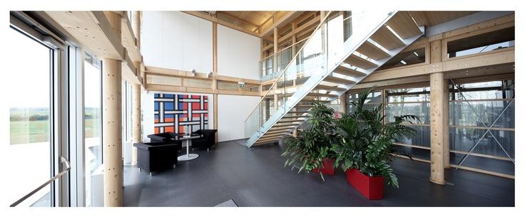 STRABAG office building Hausleiten (Lower Austria), entrance