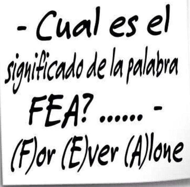 Forever alone jajaja