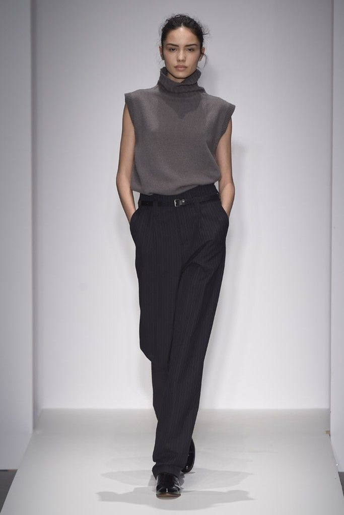 Some might call Margaret Howell's clothes generic but, boy, are they cool, with a fit and proportion that are just right.  [Photo by Giovanni Giannoni]