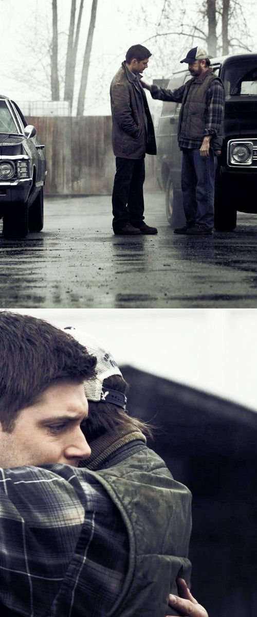 this is the last dean and bobby will see of each other for a very long time.