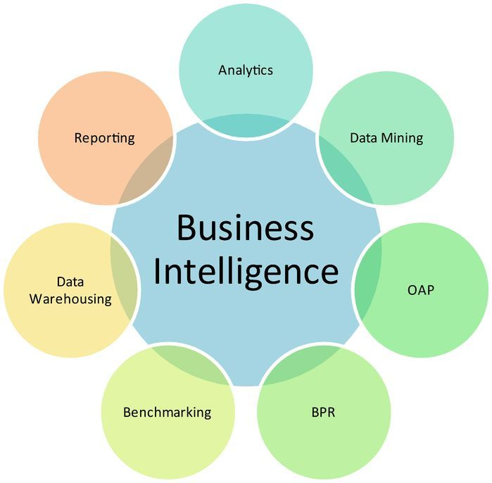 Business Intelligence Components (Venn Diagram)
