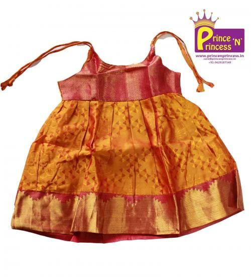 BUY new born silk frock Online @ www.princenprince... .. Pattu Pavadai South India's Traditional wear..www.princenprince... #kids #choli #pattu #pavadai #girls #silk #traditional #designer #creative #indian #lehenga #kidswear #skirt #trendy #children #clothes #new #stylish #dresses #partywear #apparel #fashion #readymade #girl #dress