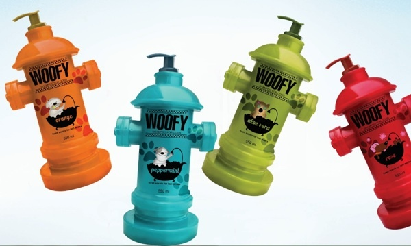 Woofy Dog Shampoo Pack Design