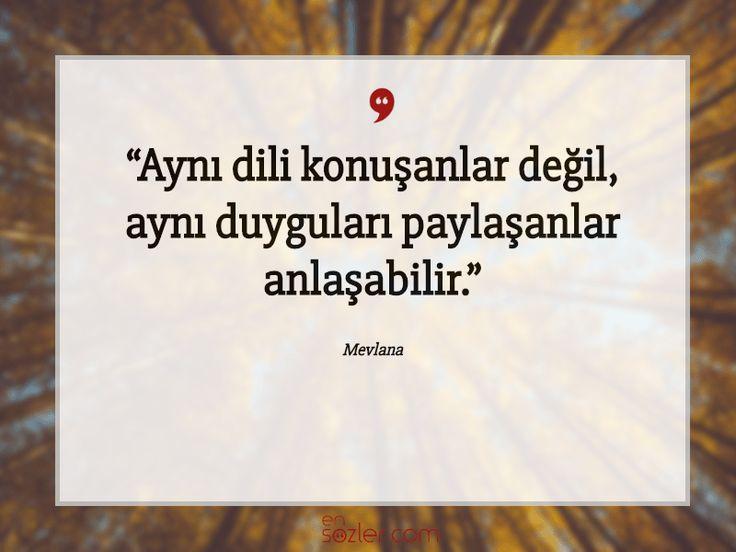 Aynı dili konuşanlar değil, aynı duyguları paylaşanlar anlaşabilir. #güzelsözler #özlüsözler #ensozler #gününsözü #sözler #güzel #özlü #anlamlısözler #guzelsozler #resimlisözler #quotes
