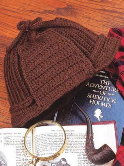 Crochet Deerstalker Hat Pattern : 120 best images about crochet hats with brims on Pinterest ...