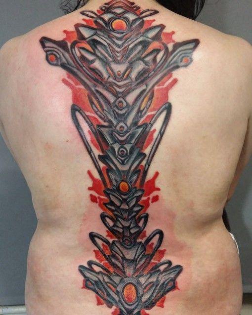 biomechanical spine drawings - photo #8