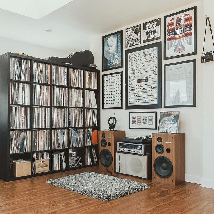 "5,140 Likes, 55 Comments - #vinyloftheday (@thevinylday) on Instagram: ""Record room of the day  : @vinylresurgence . More records shared and for sale in our…"""