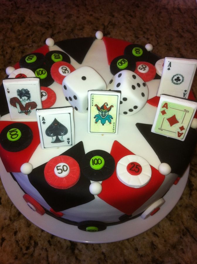 Cakes casino card poker cakes gambling charters
