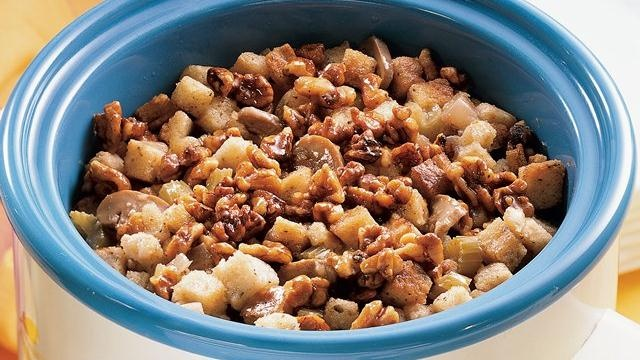Apple-Walnut Stuffing | Recipe | Stuffing, Stuffing Recipes and ...
