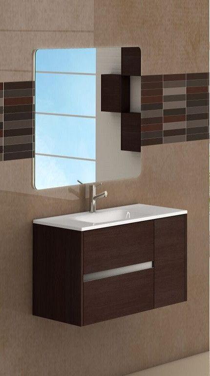 """Eviva Aries® 32"""" Brown Modern Vanity"""