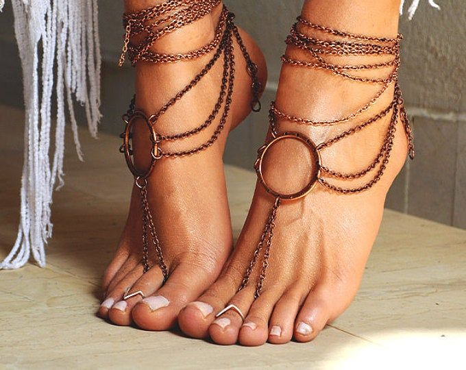 Butterfly Barefoot Sandals Bare Foot Jewelry Beach Wedding Etsy