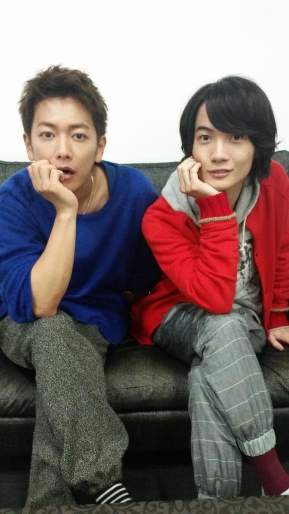 Bakuman update. Sept. 1, 2015. Satoh Takeru & Kamiki Ryunosuke in promotion of Bakuman. Credit: bakuman_movie