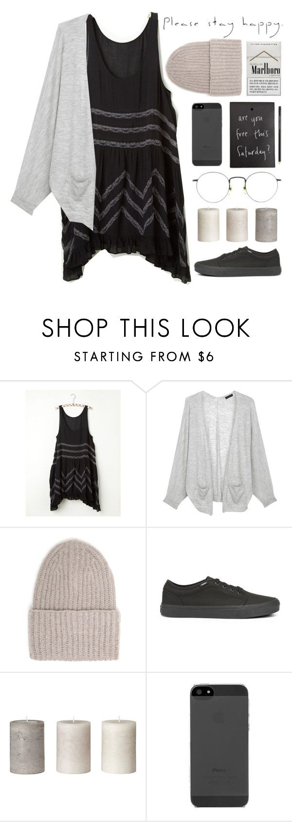 """Forgotten"" by thalia-h ❤ liked on Polyvore featuring Free People, rag & bone, Tak.Ori and Vans"