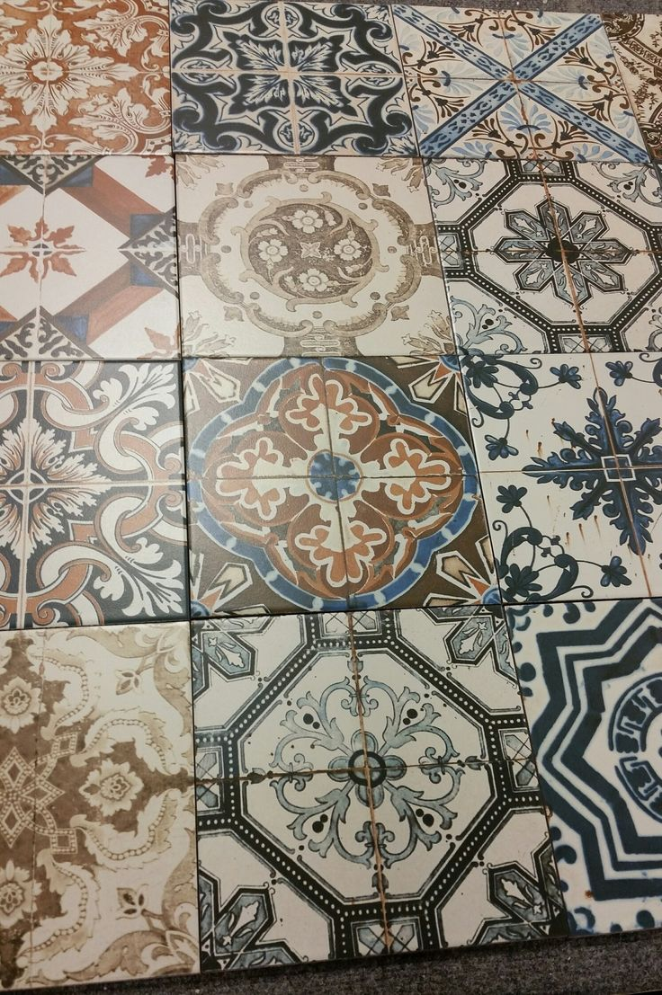 Painting Decorative Tiles 161 Best Maison  Carrelages Images On Pinterest  Tiles Tiling