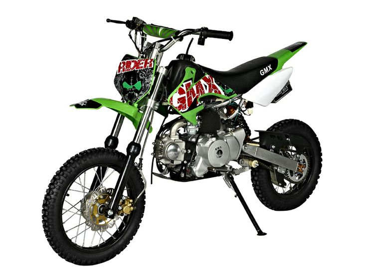GMX Rider Green 70cc Dirt Bike