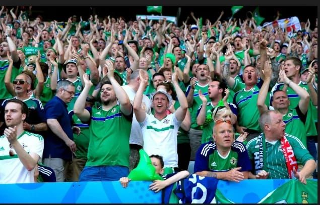 Trgaedy: Northern Irish fan collapses and dies in the stadium    A man in his sixties has diedat the ongoing European Championships   The fan collapsed and died during the game between Ukraine and Northern Ireland   Another Northern Ireland man in his twenties also died after falling from eight metres in Nice  Tragedy struck in France at the ongoing European Championships when a Northern Irelandfan collapsed and died during their 2-0 win against Ukraine in the Olympique Lyonnais grund in…