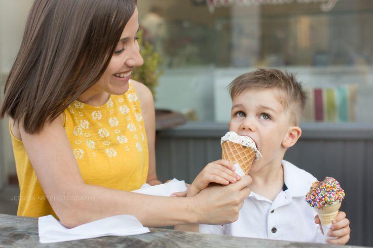 Toronto family photographer | ice cream | www.jessicanip.com | Jessica Nip Photography