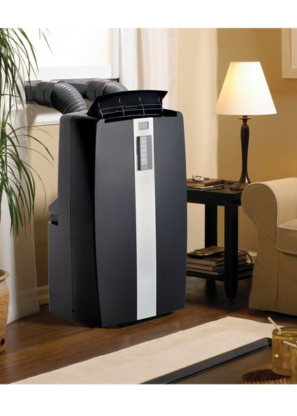 Danby Air Conditioners DPAC12011BL Portable Air Conditioner great for every home. Sleek looking and perfect for any decor!