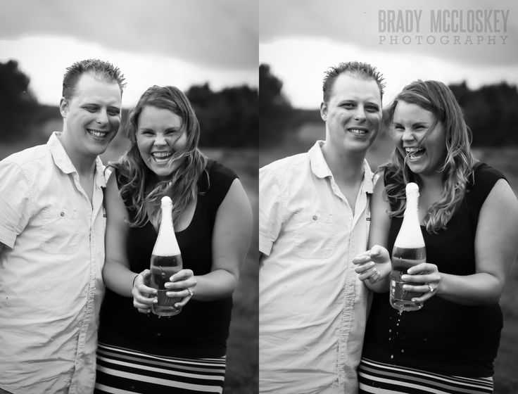 Engagement session photographed by Brady McCloskey Photography in #Souris #PEI. #engagementsession #bradymccloskeyphotography #champagne #engagementsessionideas