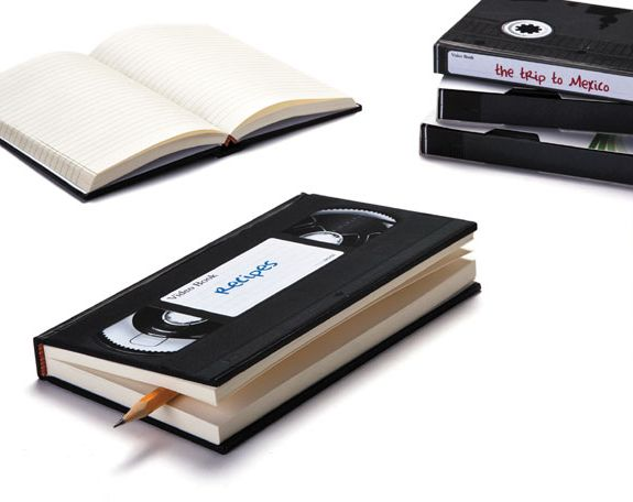 VHS Notebooks--a reminder of my era. #consideredretronow #notcomplaining #90skid