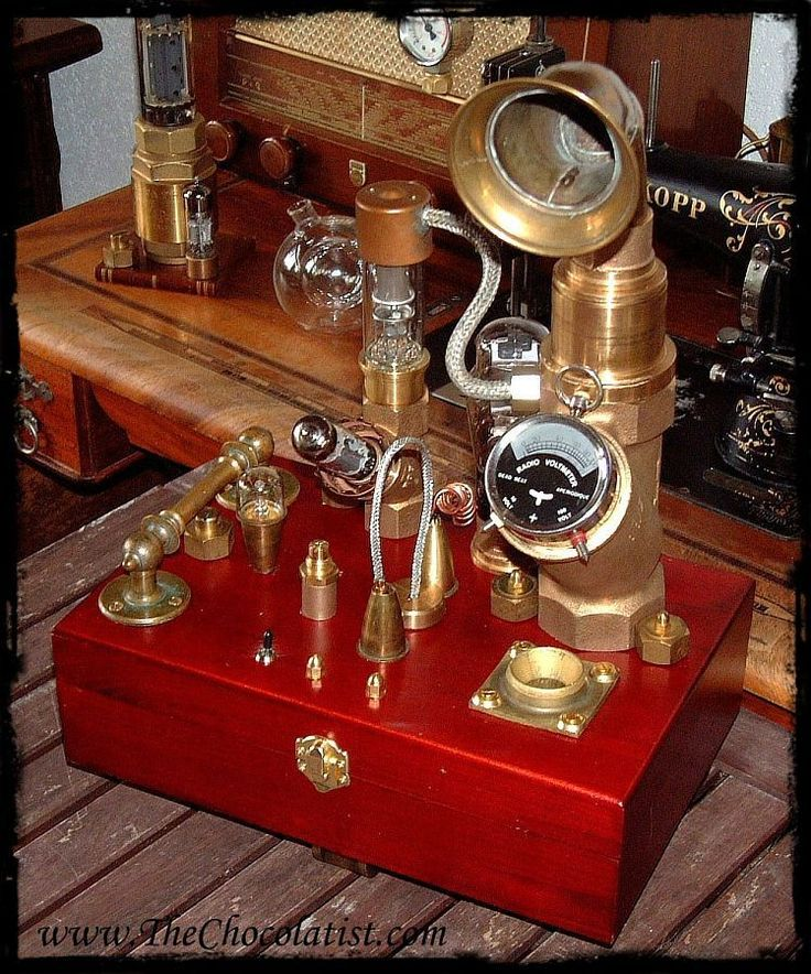 The Steampunk MP3 Music Player #audio #player #Victorian