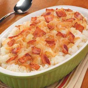 German-Style Mashed Potatoes (we like German Hot Potato Salad, this just might be good  ....  )