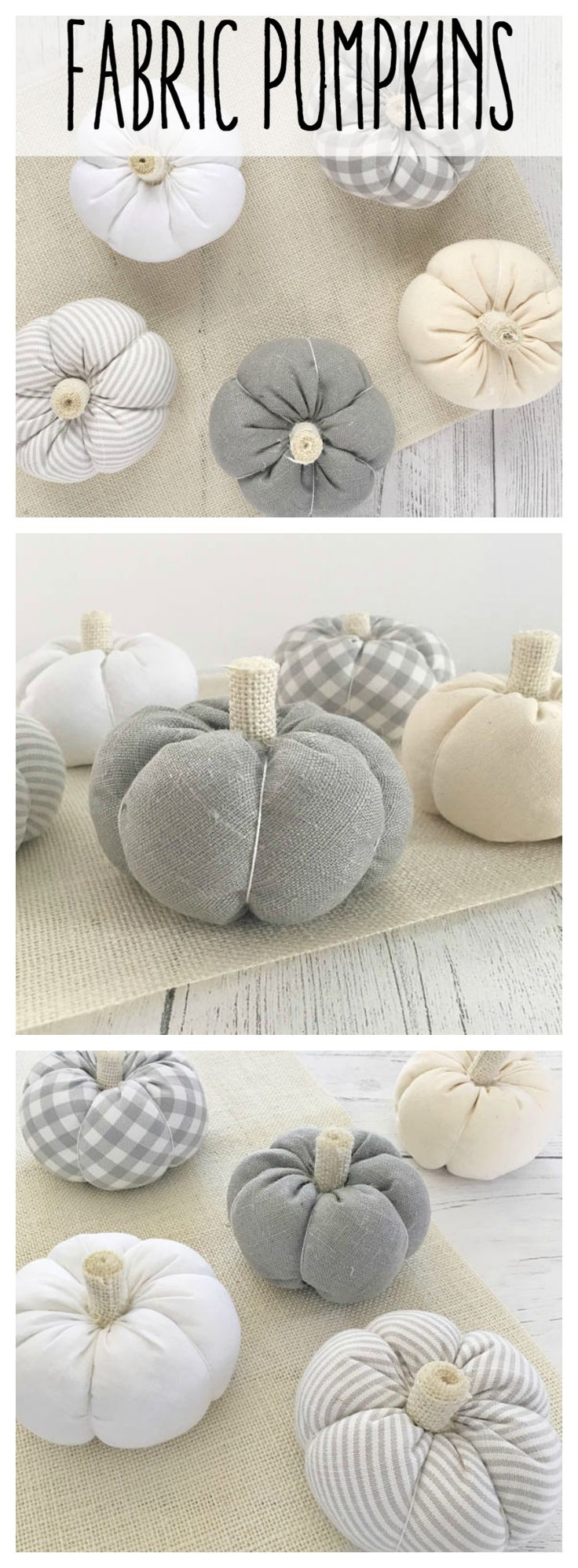 Fall pumpkin table decor. Perfect center piece for your fall/autumn table! #aff