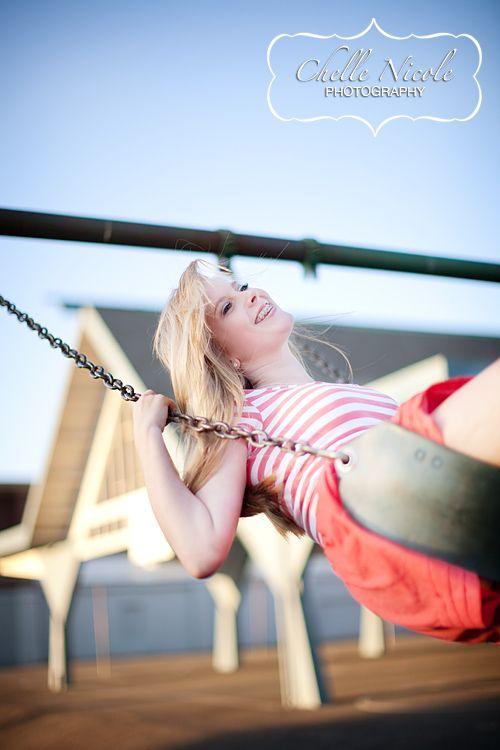 Teen photo shoot + Swings   chellenicole.com