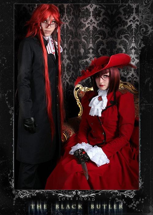 Madameredd Review Kiss Brush On Gel Nail Kit: Grell & Madame Red - Kuroshitsuji