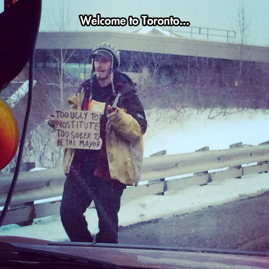 Meanwhile in Toronto