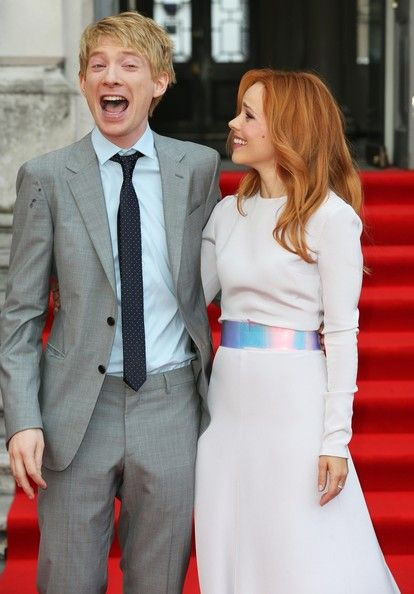 Domhnall Gleeson Domhnall Gleeson and Rachel McAdams arrive for the 'About Time' premiere in London.