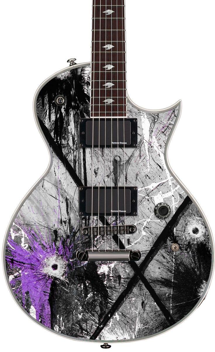 GuitarQueue - ESP LTD GUS-600 EC Gus G. Electric Guitar http://guitarqueue.com/esp-ltd-gus-600-ec-gus-g-electric-guitar/
