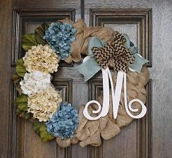 Hey, I found this really awesome Etsy listing at https://www.etsy.com/listing/178213736/burlap-wreath-spring-wreath-monogram