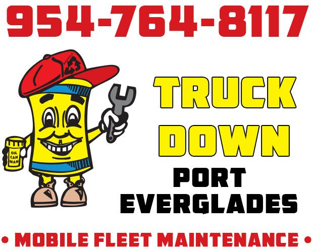 954-764-8117 Port Everglades Truckdown Port Everglades Come to You Curbside. Call Dispatch With Berth or Location.  http://oilcanman.com/truckdown-port-everglades/  #TruckdownPortEverglades #PortEvergladesTruckdown   Oil Can Man 954-764-8117 730 NW 7th St Port Everglades, FL 33311 Repairs@OilCanMan.com www.OilCanMan.com