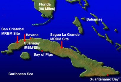 Communist reign of Cuba, the US sent CIA-trained Cuban exiles to invade southern Cuba at the Bay of Pigs. Description from savingjackiek.com. I searched for this on bing.com/images