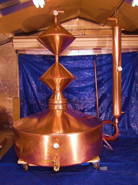 "Copper moonshine still 220 gallons!  www.LiquorList.com ""The Marketplace for Adults with Taste!"" @LiquorListcom   #LiquorList.com"