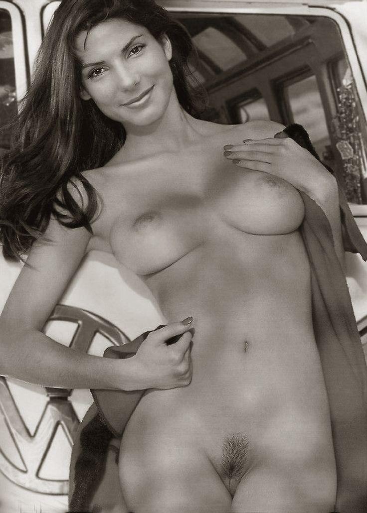 real nude sandra bullock