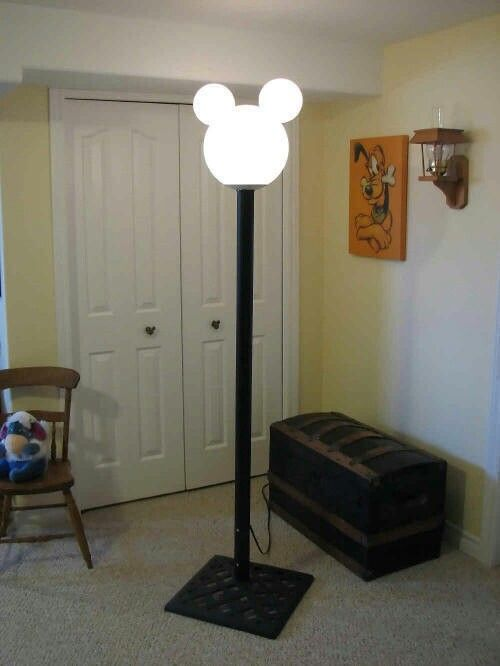 Mickey mouse lamp for guest room