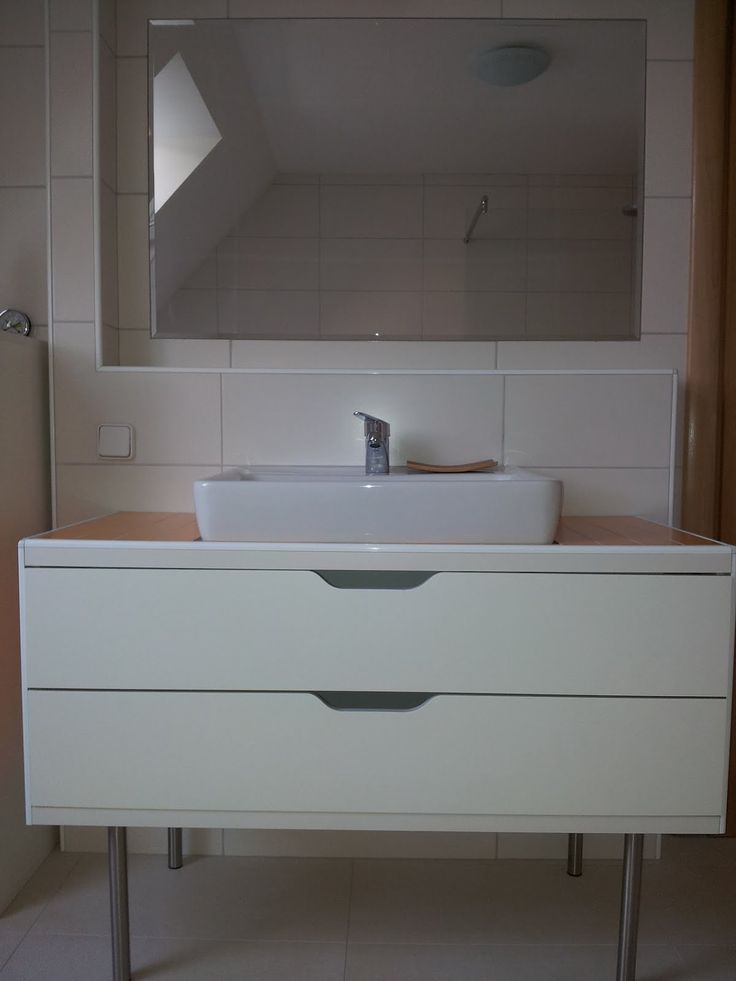 Ikea Hackers My Stolmen Vanity Unit Casa De Banho Bathroom Pinterest Vanity Units