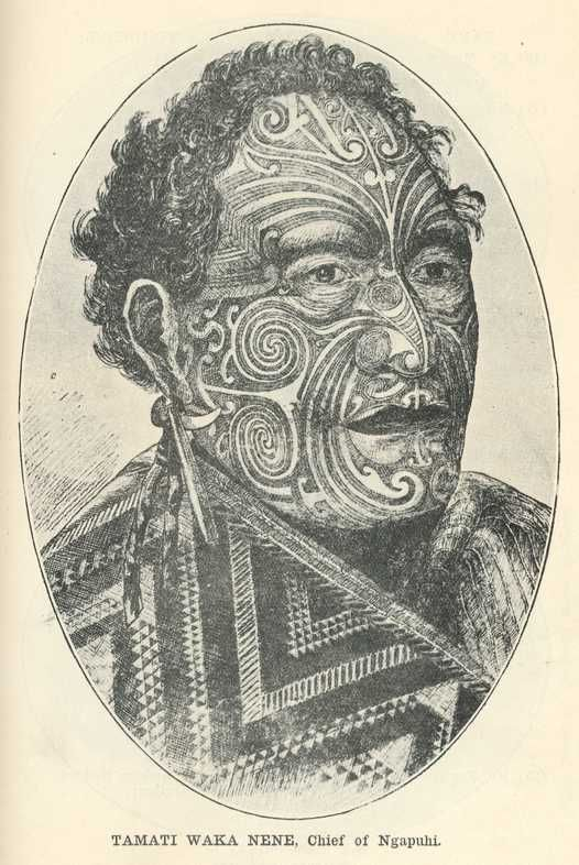 Tamati Waka Nene, Chief of Ngapuhi