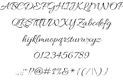 Allura font by TypeSETit - FontSpace