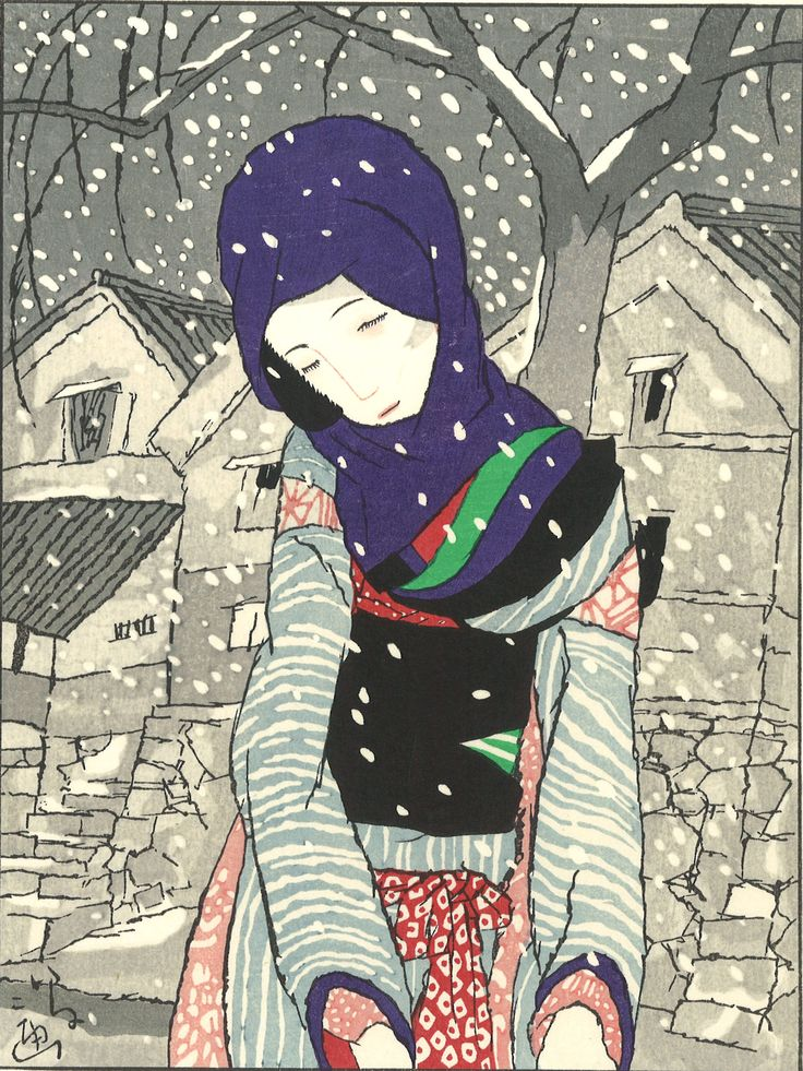 Takehisa Yumeji- Yuki no Yo no Densetsu (Legend of the night of snow) - Free…