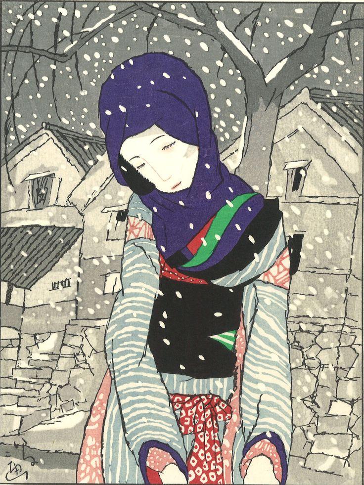 Takehisa Yumeji- Yuki no Yo no Densetsu (Legend of the night of snow) - Free…
