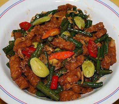 Resep Ema: Tumis tempe dan kacang panjang | . Indonesian ...