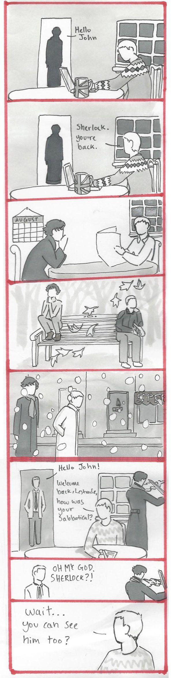 BBC Sherlock Comic: wait..... by Graphitekind.deviantart.com on @deviantART