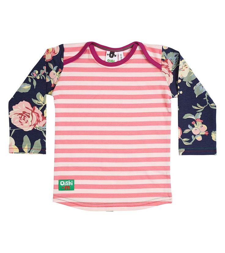 Coconut Ice Slice LS T Shirt, Oishi-m Clothing for Kids, Autumn 2018, www.oishi-m.com