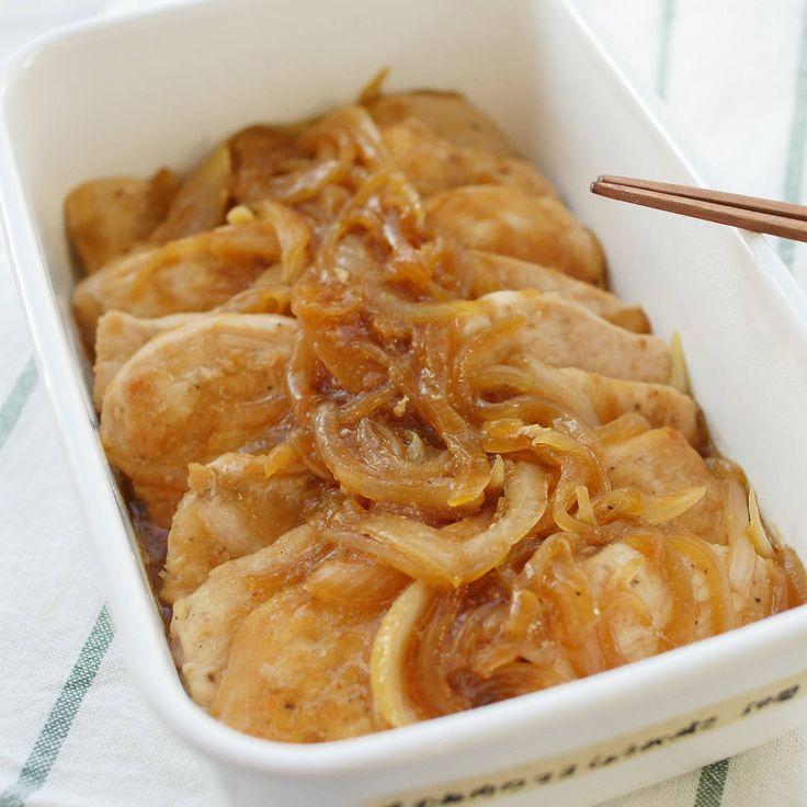 【作り置き】ぽってりコクまろ!鶏むね肉のマヨしょうが焼き - macaroni