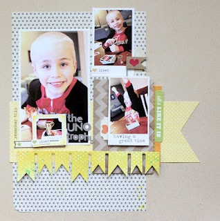 Layout by Diana Fisher  #Scrapbook Circle Daydreamer Kit