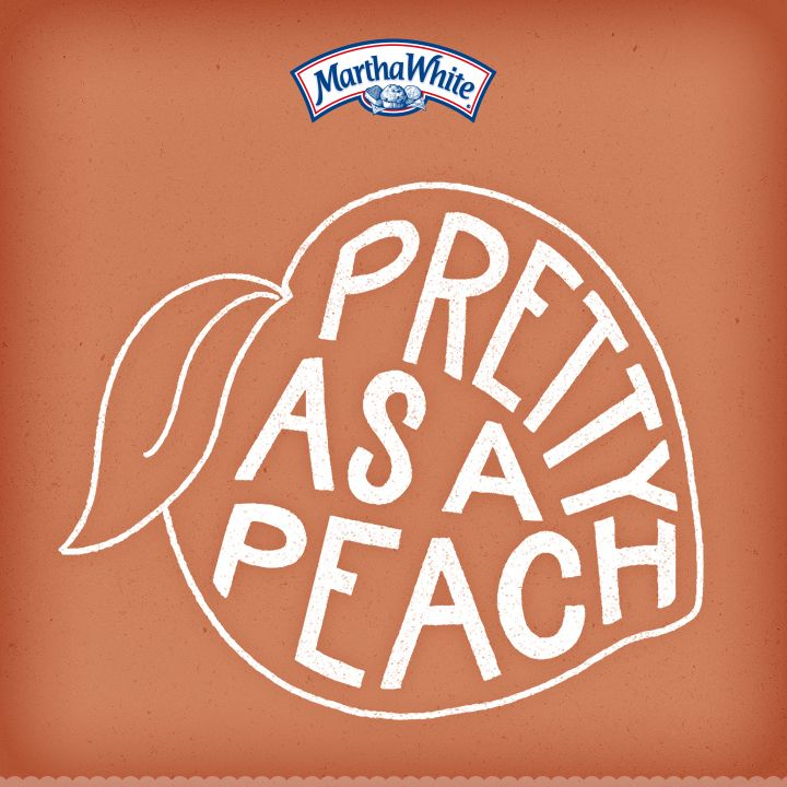 Pretty as a Peach! #SouthernSayings