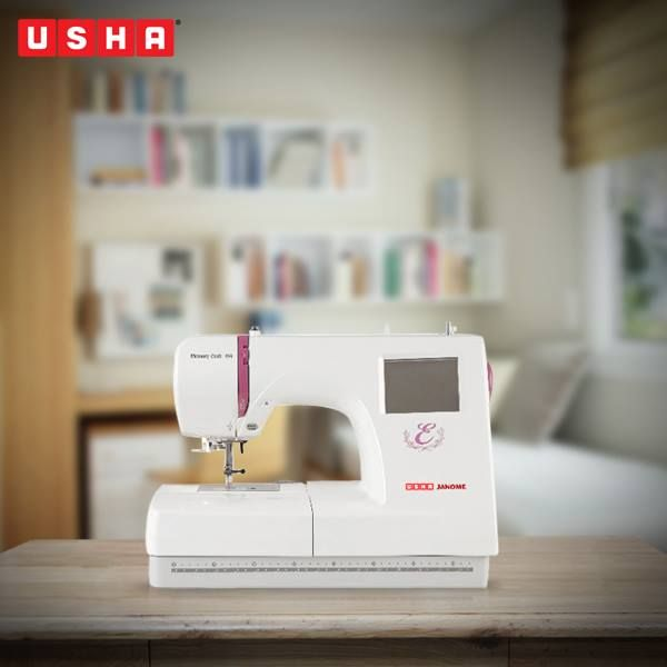Ask what the Usha Janome Memory Craft 350E Embroidery Machine can do for you and you won't ask what you will not do to get one